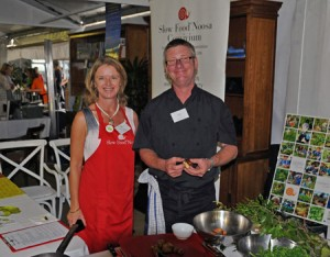 With Peter Wolfe,  Bushfood Chef