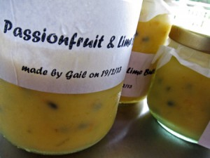 Passionfruit & Lime Butter